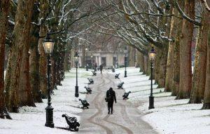 Inglaterra en invierno - Londres