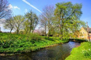 Primavera en Inglaterra - Ríos Bottesford Leicestershire