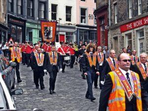 Marcha en honor a la Batalla del Boyne