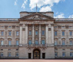 Entrada al Palacio de Buckingham, Londres, Inglaterra