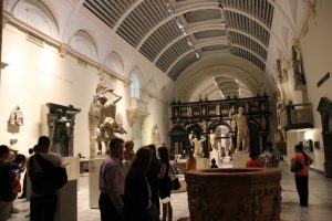 Esculturas en el Museo Victoria y Alberto