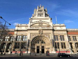 Fachada externa del Museo de Victoria y Alberto