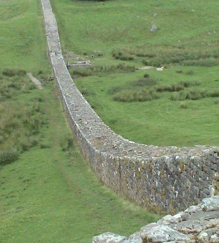 Muro De Adriano Mapa.Muralla De Adriano Inglaterra Ws