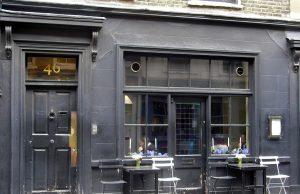 Restaurante Andrew Edmunds