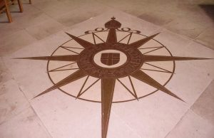 Star in Canterbury Cathedral