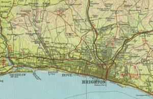 Mapa de Brighton