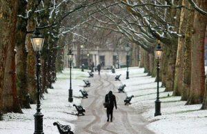 Inglaterra en Febrero